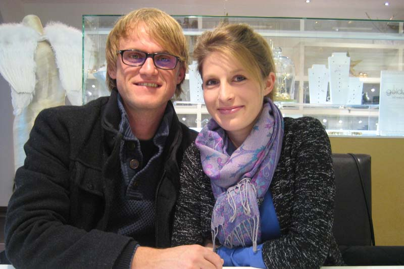 Ksenja & Claus